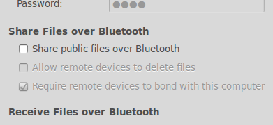 Ubuntu : Automatically receive files over bluetooth